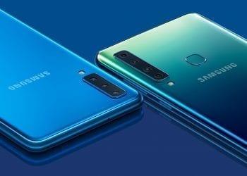Samsung Galaxy A7 Blue Samsung Galaxy A9 Lemonade Blue Combo