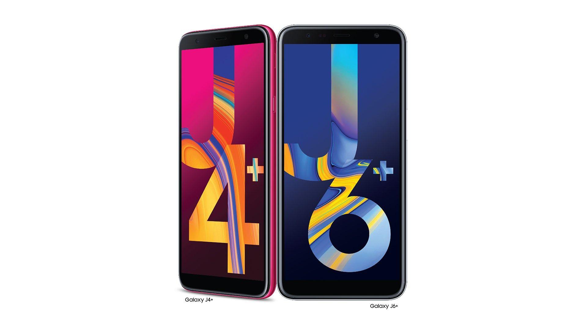 Samsung Galaxy J6+ and Samsung Galaxy J4+