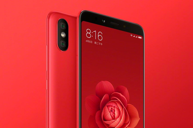 Xiaomi Mi A2 red hero