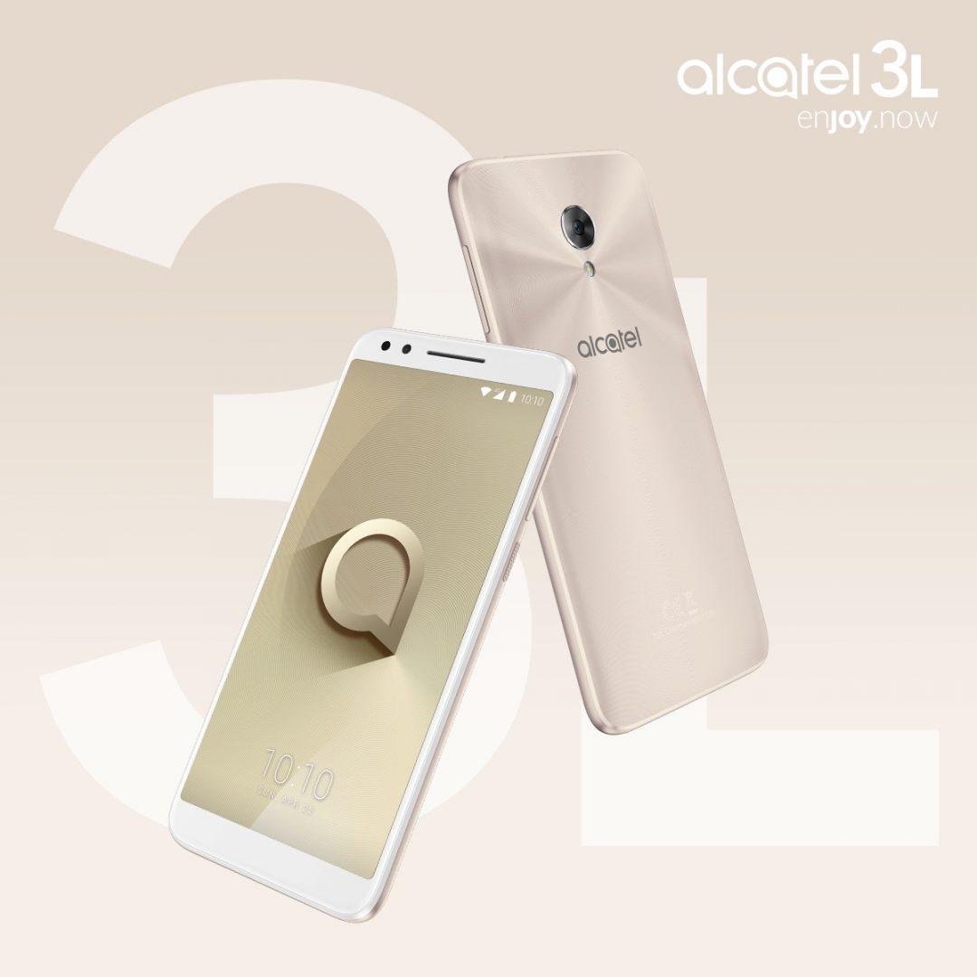 Alcatel 3L Gold