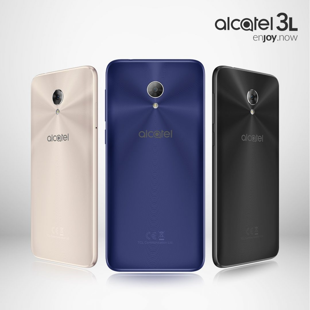 Alcatel 3L Three Colors