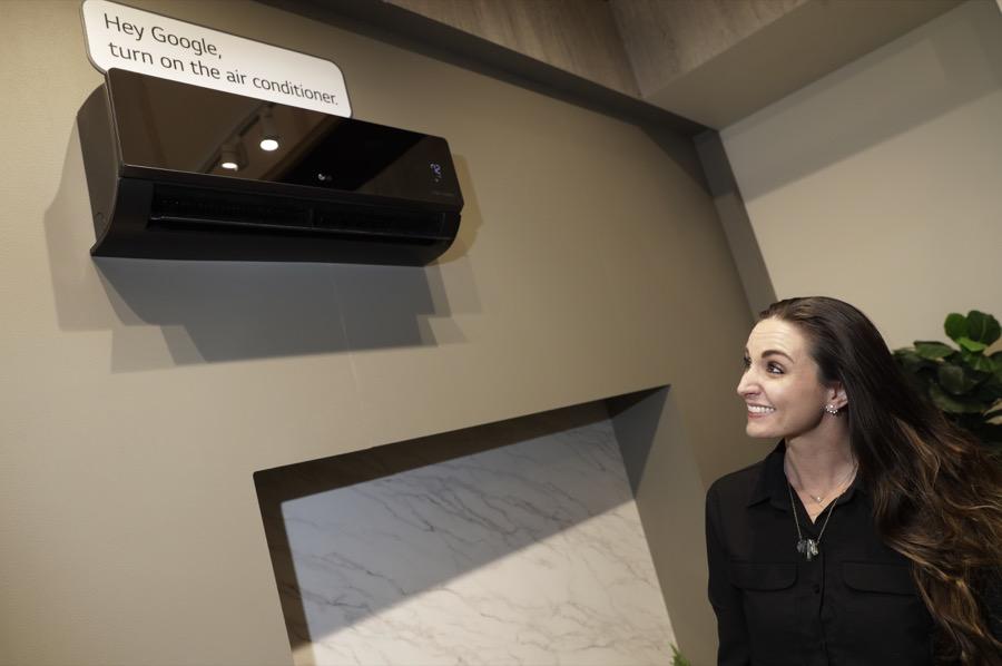 LG Appliances Voice AI voice recognition