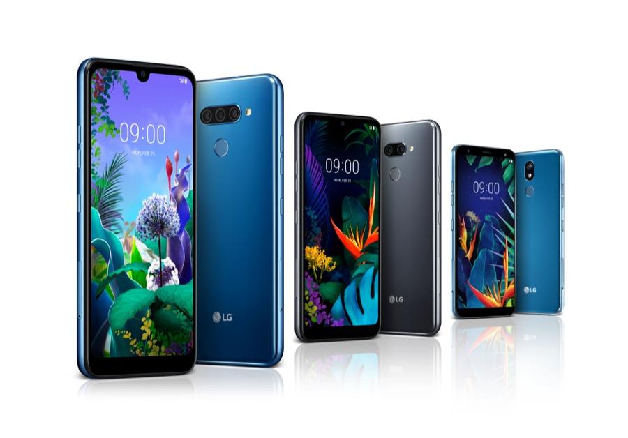 LG Q60 LG K50 LG K40 MWC 2019 range