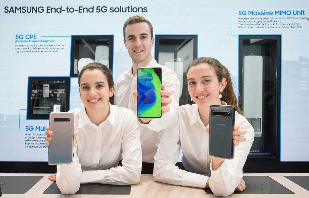 Samsung Galaxy S10 5G MWC 2019 (2)
