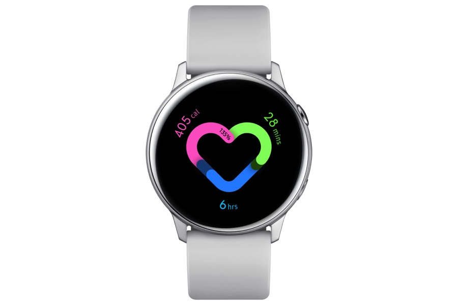 Samsung galaxy watch active silver1 0