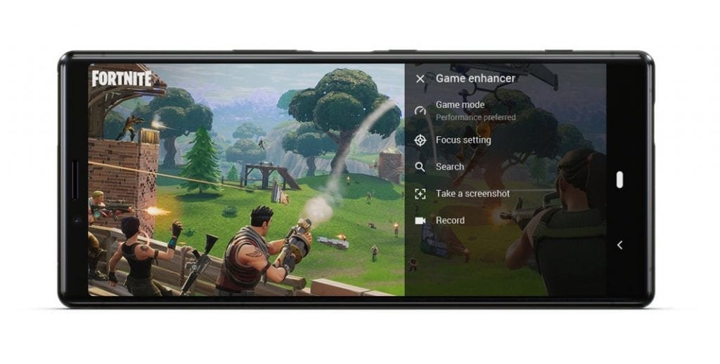 Sony Xperia 1 gaming