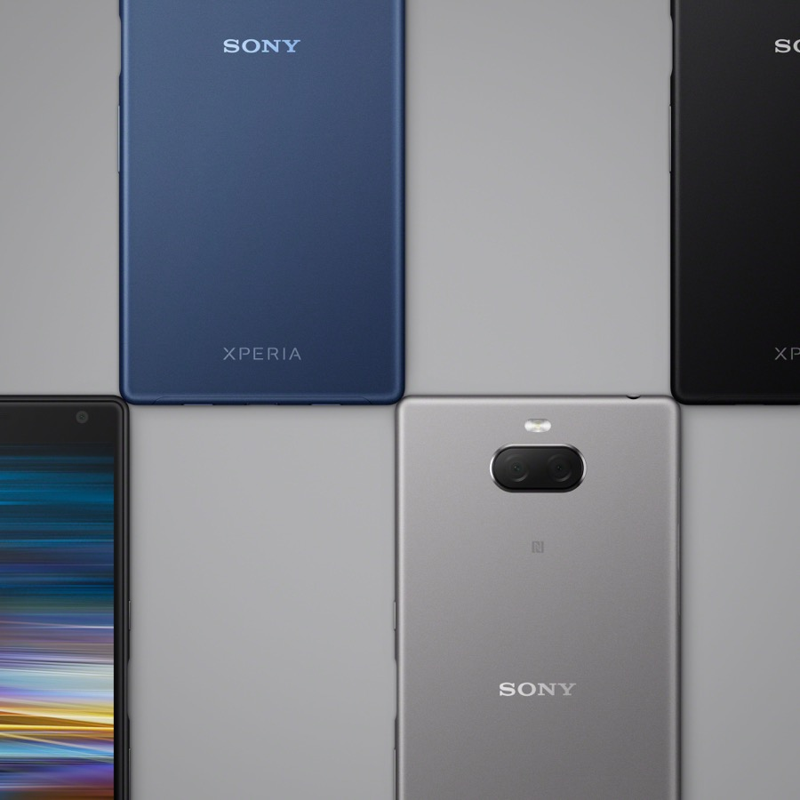 Sony Xperia 10Plus Color line up square wo gold