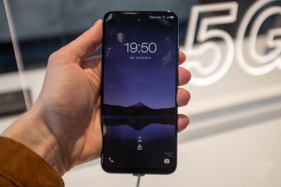 Alcatel 7 5G hands on