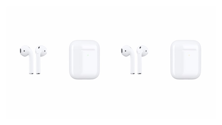 Apple AirPods 2 design mockup
