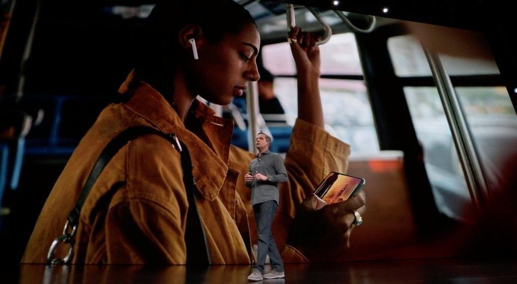 Apple TV on iPhone XS