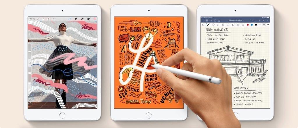 Apple iPad Mini 5 2019 wiith Apple Pencil (2)
