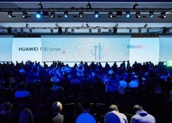 Huawei P30 Series Paris event 2