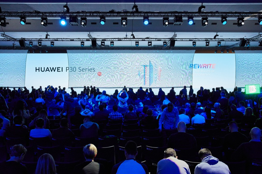 Huawei P30 Series Paris event 2