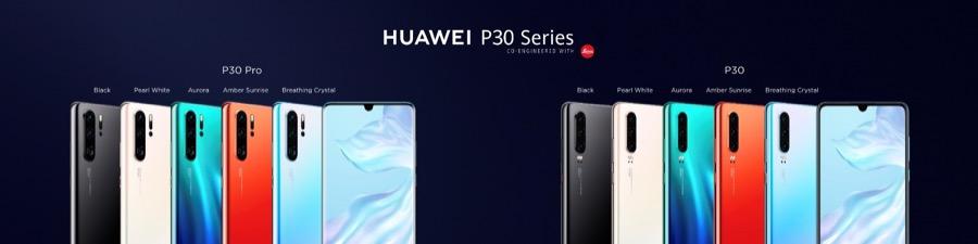 Huawei P30 Series hero