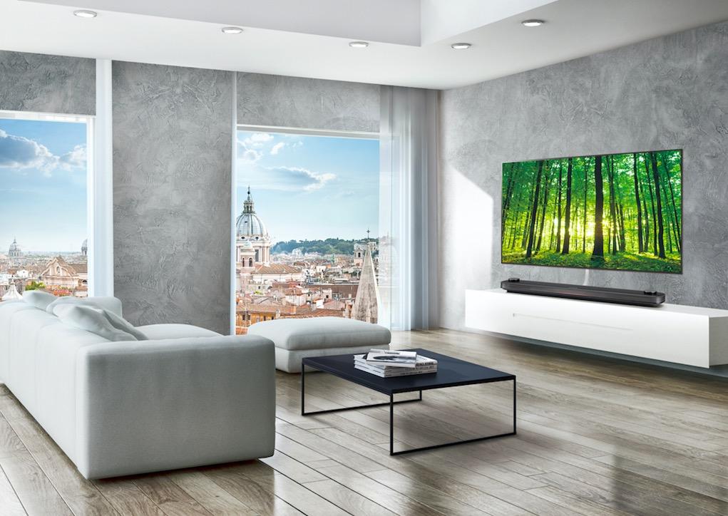 LG OLED Wallpaper Hotel TVs WU960H (2)