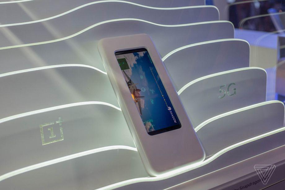 OnePlus 5G prototype hands on