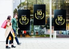 Samsung 10 years no.1 in digital signage