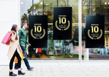 Samsung 10 years no.1 in digital signage