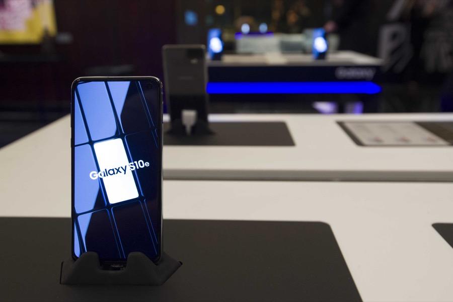 Samsung Galaxy S10 Greek launch event 1