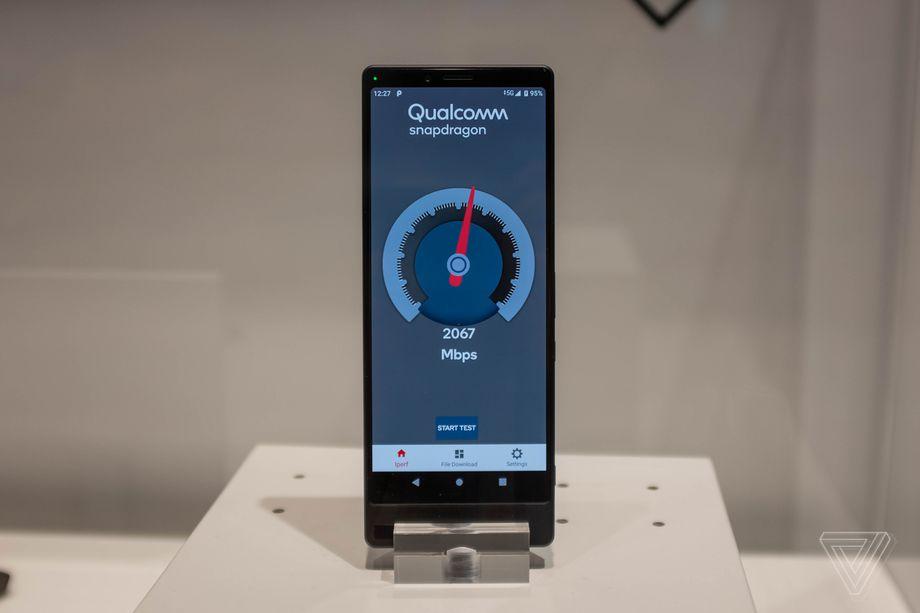 Sony 5G prototype hands on