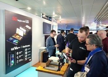 LG Swisscom 5G Europe