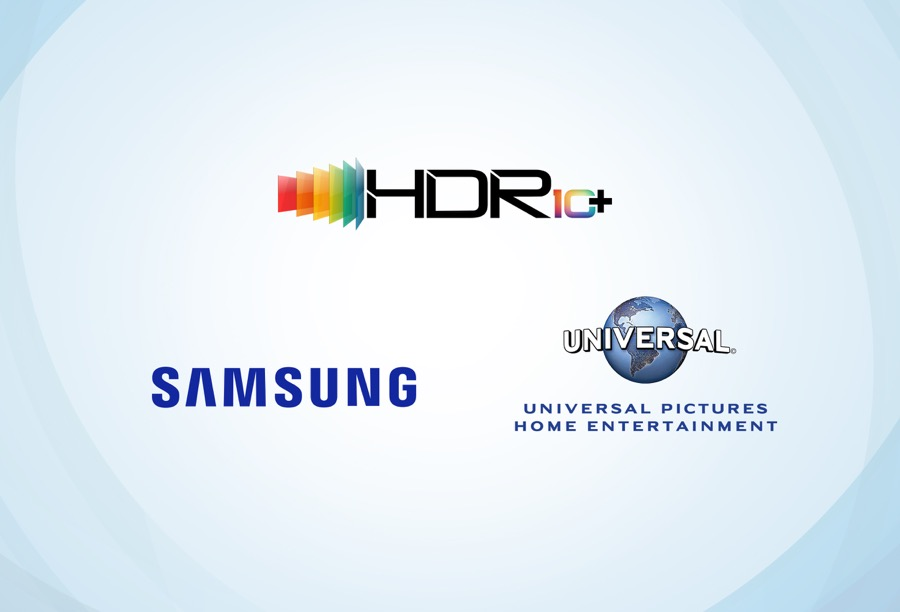 Samsung Universal Pictures HDR10+ content collaboration