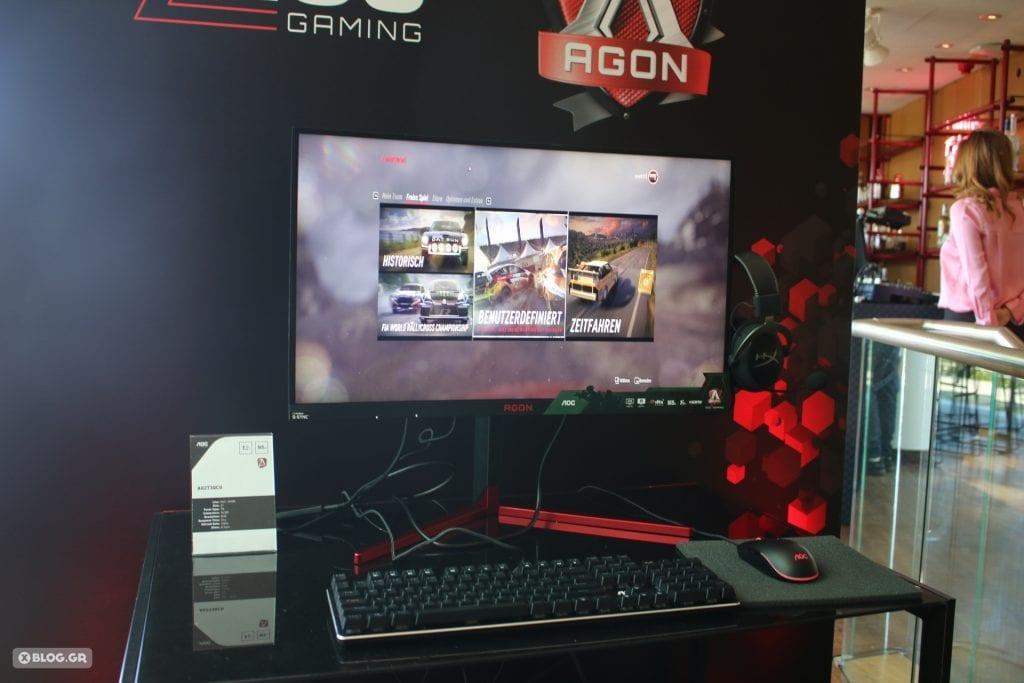 AOC AGON gaming monitor