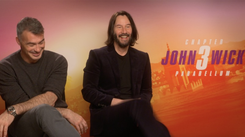 Chad Stahelski and Keanu Reeves discuss the future of John Wick