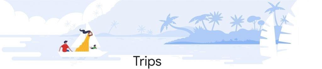 Google Trips hero