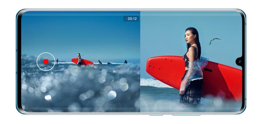Huawei P30 Pro Dual View camera