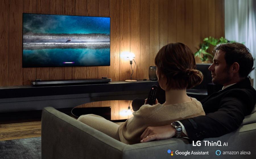 LG AI THINQ TV Amazon Alexa 2