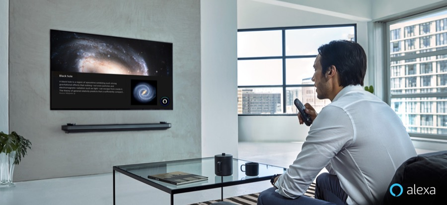 LG AI THINQ TV Amazon Alexa