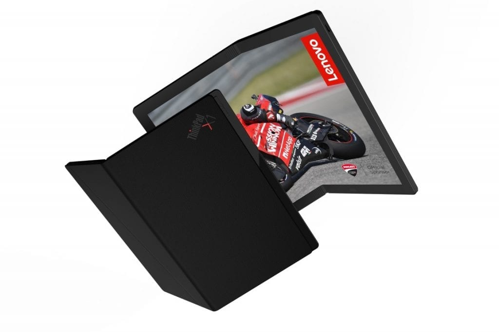 Lenovo ThinkPad X1 Worlds First Foldable PC