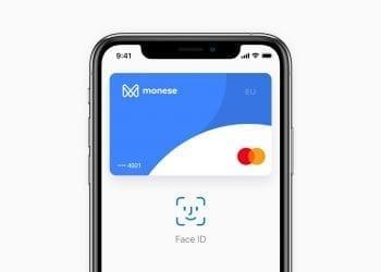 Monese Apple Pay