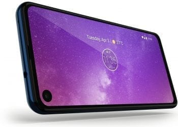 Motorola One Vision screen