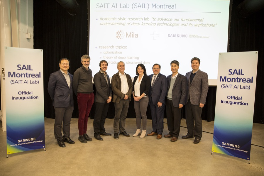 Samsung SAIT AI Lab Montreal expansion
