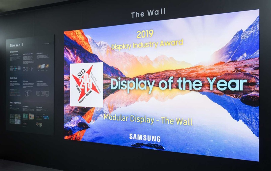 Samsung the wall sid display of the year 3