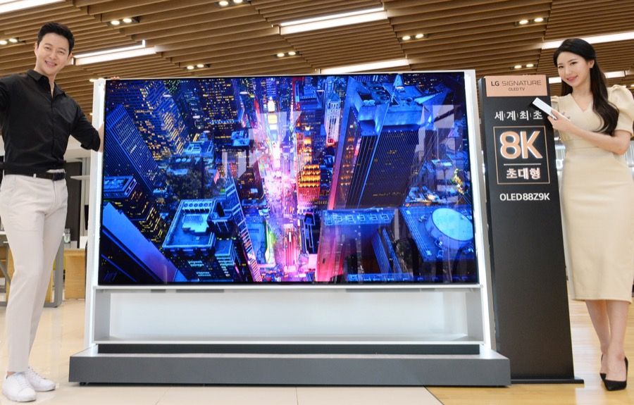 LG 8K OLED TV 88Z9 2