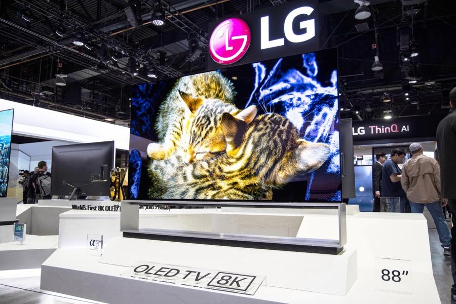 LG 8K OLED TV 88Z9 4