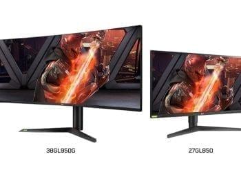 LG UltraGear Nano IPS G SYNC gaming monitors