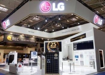 LG at intersolar 2019