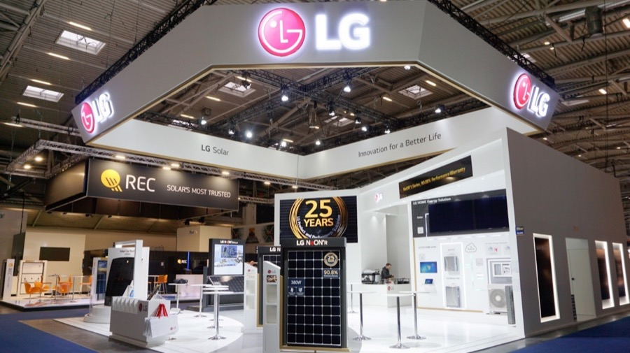 LG at intersolar 2019