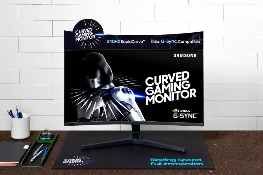 Samsung CRG5 C27RG5 gaming monitor 2