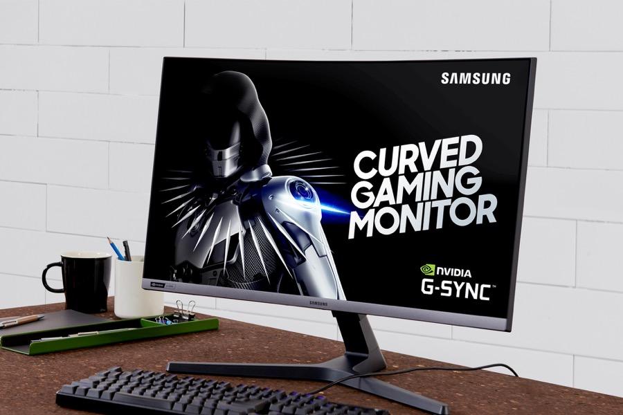 Samsung CRG5 C27RG5 gaming monitor 3