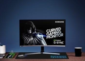 Samsung CRG5 C27RG5 gaming monitor 4