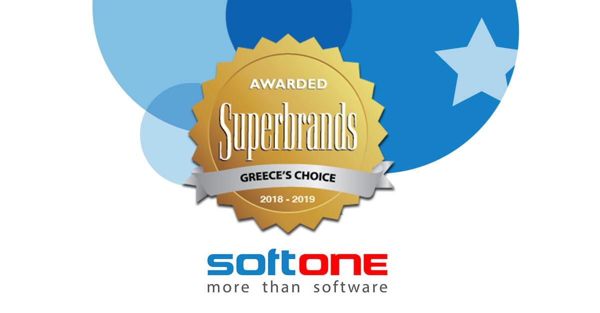 SoftOne Superbrands 2018 2019