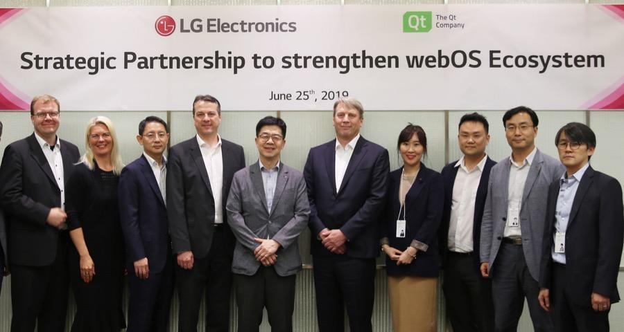 LG: Η Qt θα συνεχίσει να χρησιμοποιεί το webOS σε μελλοντικές συσκευές