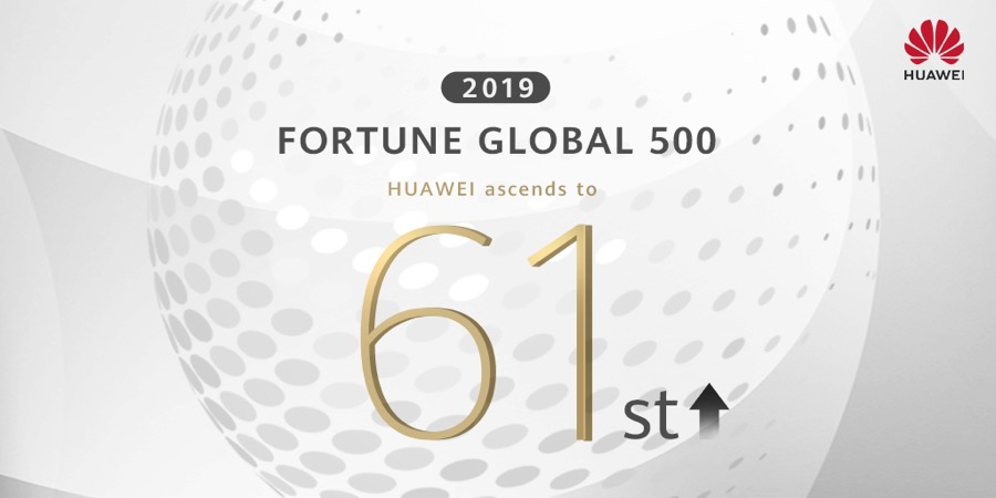 Huawei Fortune 500 61st