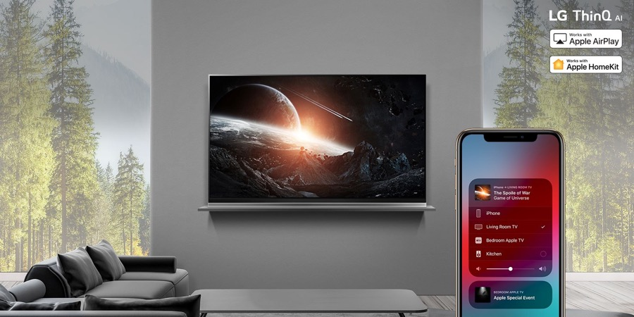 LG AirPlay 2 on 2019 ThinQ AI TV