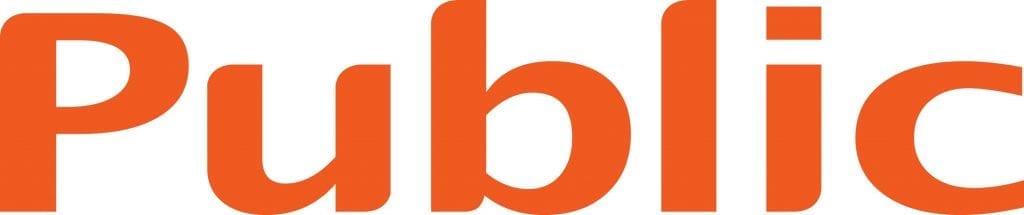 Public logo